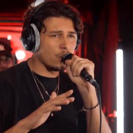 Georgio en live chez Radio Nova