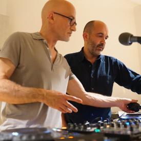 Boombass B2B Etienne De Crecy à Radio Nova