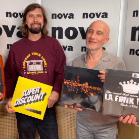 David Blot, Pedro Winter, Boombass et Etienne de Crecy Nova Club