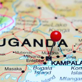 Kampala-coince-sur-une-carte-de-lAfrique-Photos_Gettyimagesdk_photos